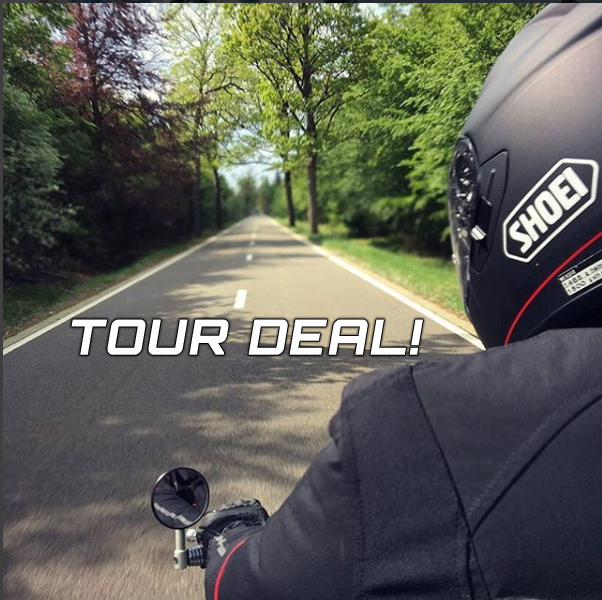 Shoei GT-Air Tour deal!