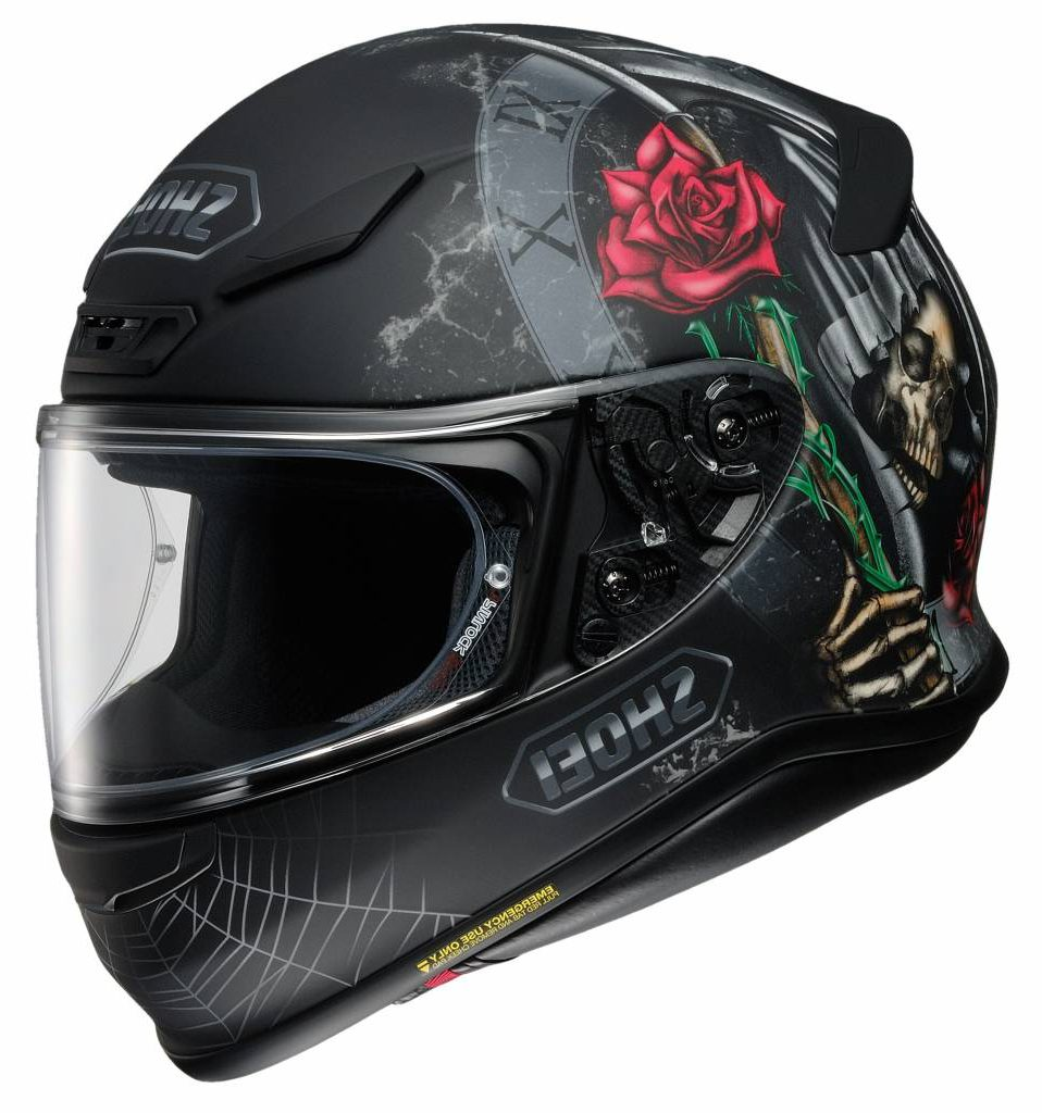 SHOEI NXR DYSTOPHIA TC-5